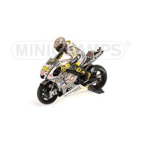 SET FIGURINE ROSSI + YAMAHA YZR-M1 + STAND #1 WIDE - MOTOGP 2010 LAGUNA SECA L.E. 555 pcs.