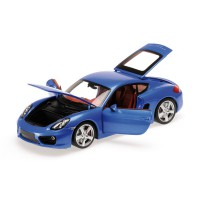 PORSCHE CAYMAN - 2012 - BLUE METALLIC L.E. 504 pcs.