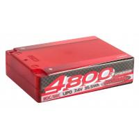 NOSRAM 4800 - Square Pack - 110C/55C - 7.4V LiPo - 1/10 X-treme Race Hardcase